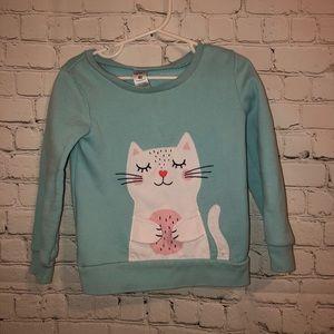 Cozy cat sweatshirt